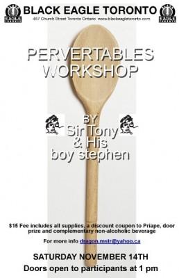 Pervertables Workshop