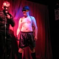 Eastern Canada LeatherSIR / Leatherboy 2012 Contest (photo: slave eric)