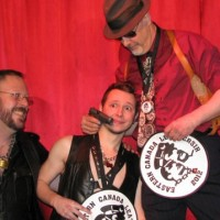Eastern Canada LeatherSIR / Leatherboy 2012 Contest (photo: slave eric)