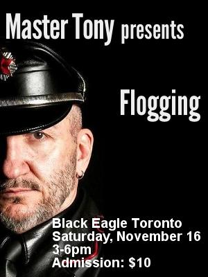 Master Tony presents Flogging