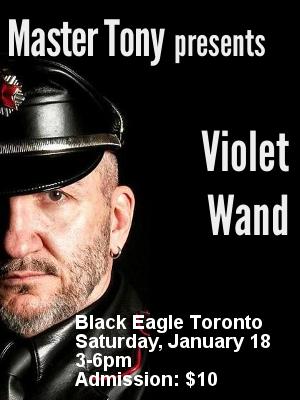 Master Tony presents Violet Wand