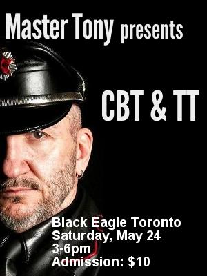 Master Tony presents CBT & TT