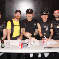 Central Canada LeatherSIR / Leatherboy / Community Bootblack 2014 Weekend (photo: JJ Deogracious for leatherati.com)